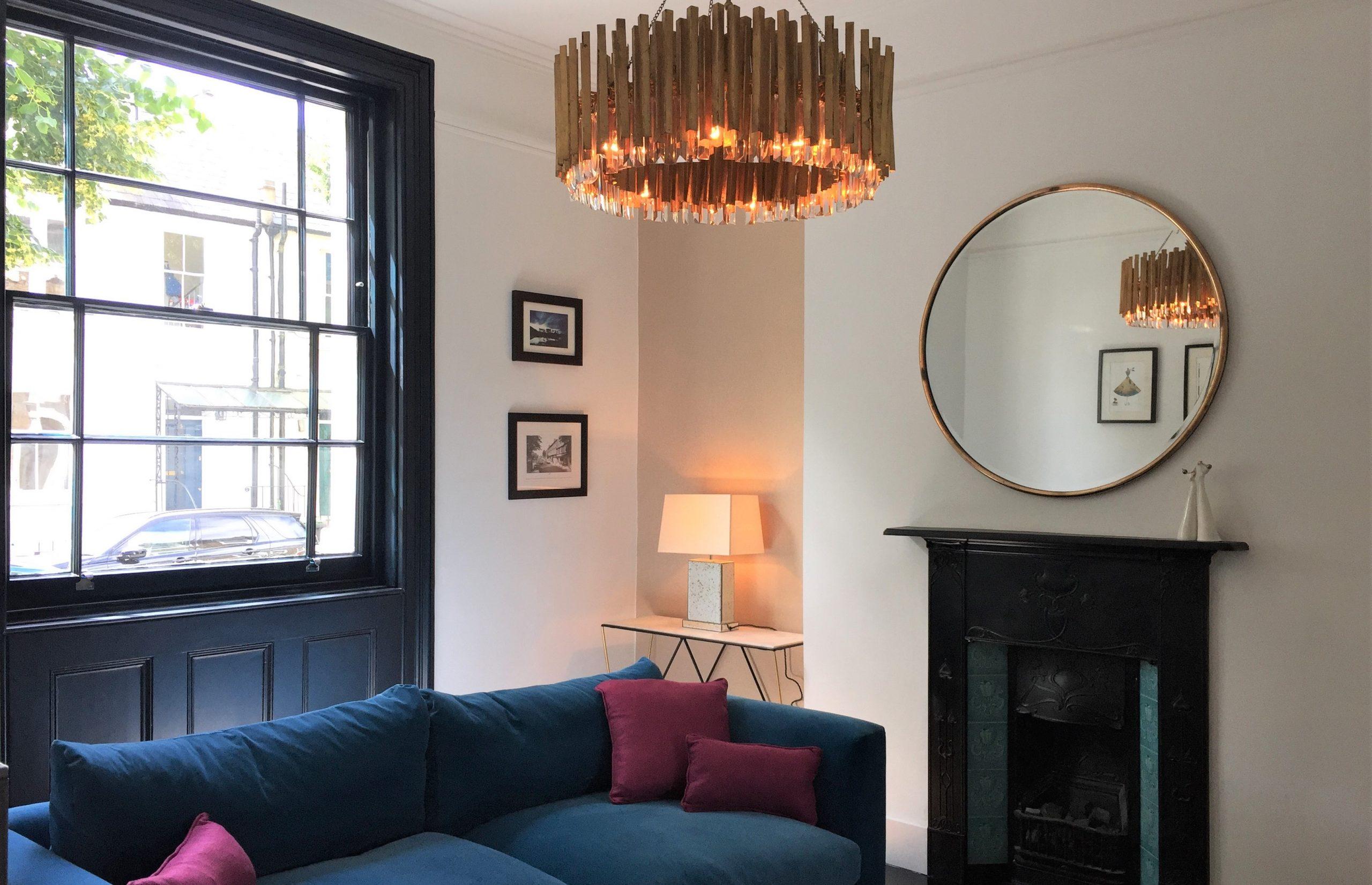 Design-Penguin-Interior-Design-Living Room - period property Eton Grove